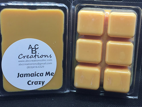 Jamaica Me Crazy Soy Wax Melt