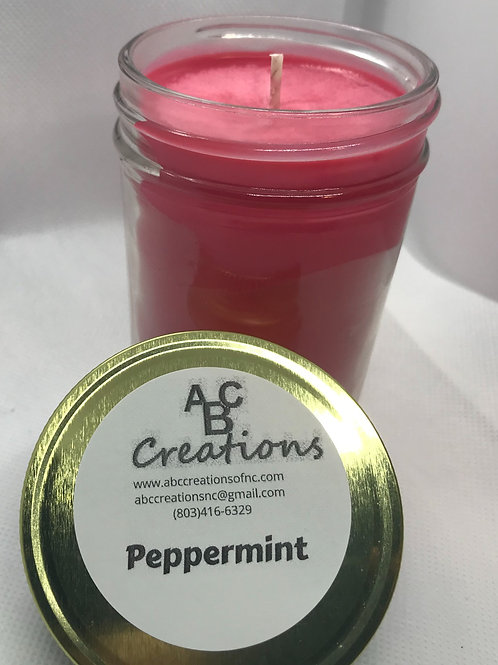 Peppermint 8 oz. Soy Candle