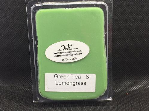 Green Tea & Lemongrass Soy Wax Melt