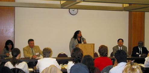 Natasha Curtis, past CCIO President
