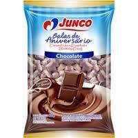 BALA DE ANIVERSARIO CHOCOLATE 400G