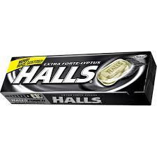 HALLS EXTRA FORTE UN