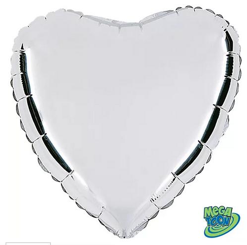 Balões Metalizados | Coração