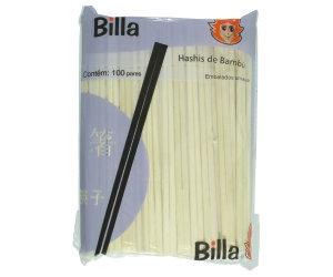 HASHI DE BAMBU BILLA C/10 PARES