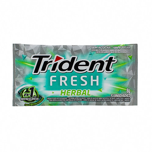 CHICLE TRIDENT FRESH IN