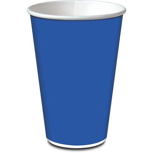 Copo de papel 330ml azul