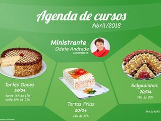Agenda de Cursos para Abril