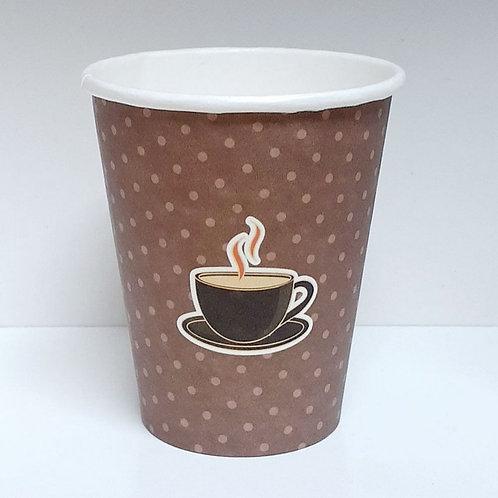 Copo de papel p/café 180ml decorado