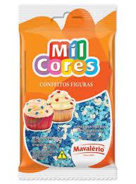 CONFEITO FIGURA FUNDO DO MAR 50G MIL CORES