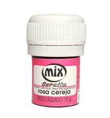 CORANTE MIX GEL ROSA CEREJA 15G