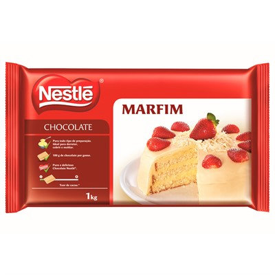 Chocolate marfim (branco) Nestlé