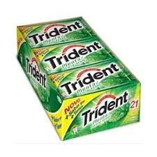CHICLE TRIDENT MENTA