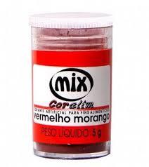 CORANTE MIX 5G VERMELHO MORANGO