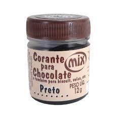 CORANTE CHOCO PRETO 12G MIX