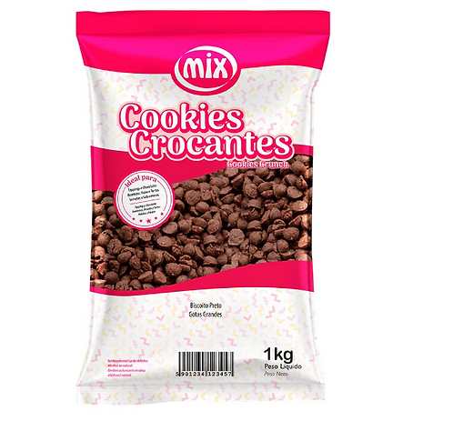 COOKIES CROCANTES sabor chocolate