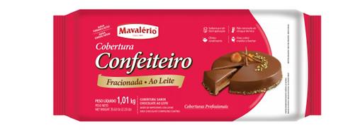 COBERTURA CONFEITEIRO AO LEITE