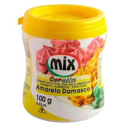 CORANTE 100G AMARELO DAMASCO MIX