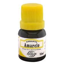 CORANTE 10ML CHOCO AMARELO ARCOLOR