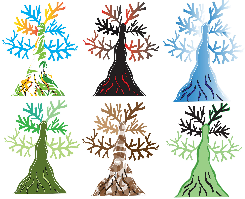 6 Color  Logos