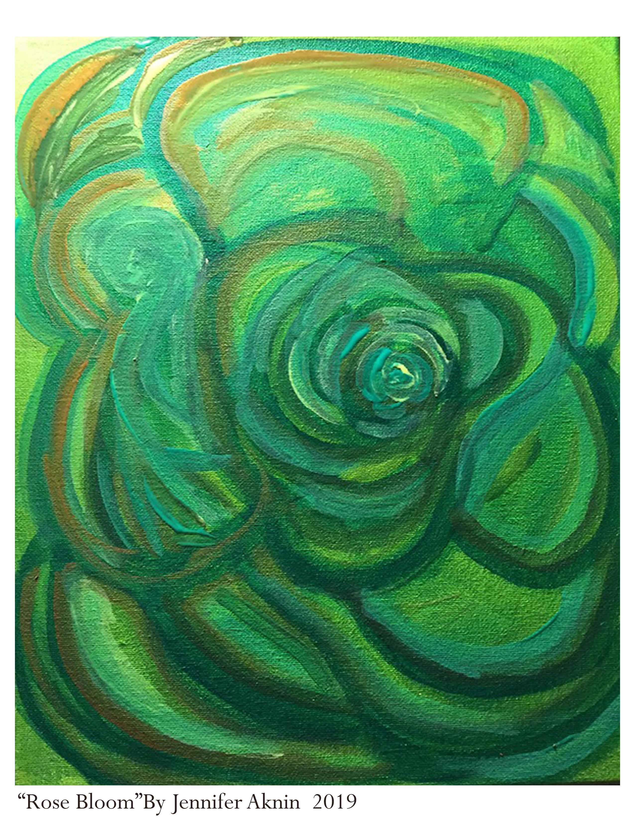 Rose Bloom Print 2019
