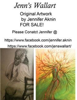 art for sale flyer