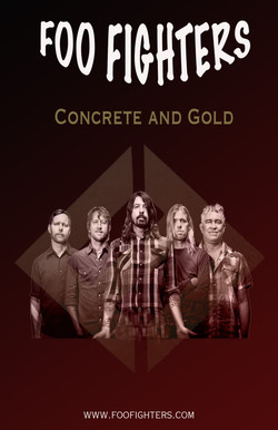 Foofighters final poster revamped
