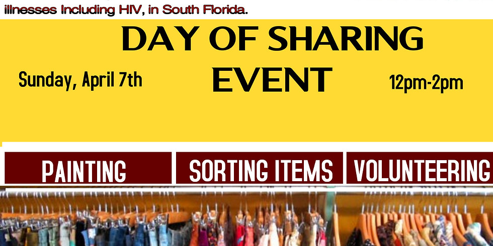 Day of Sharing Event