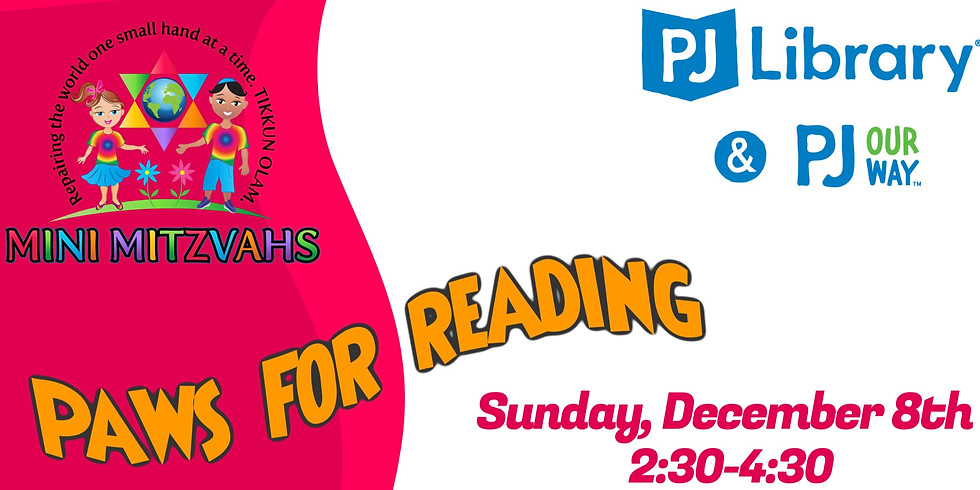 2nd Paws for Reading Event
