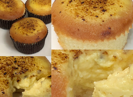 Ultimate Creme Brulee Cupcakes