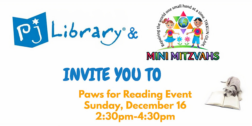 Paws for Reading Event