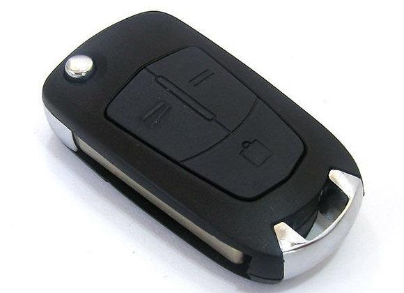 Ключ для Vectra C  3 кнопки 433 MHz