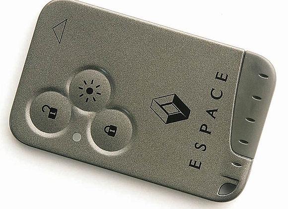 Renault Espace 3 кнопки. 433MHz.