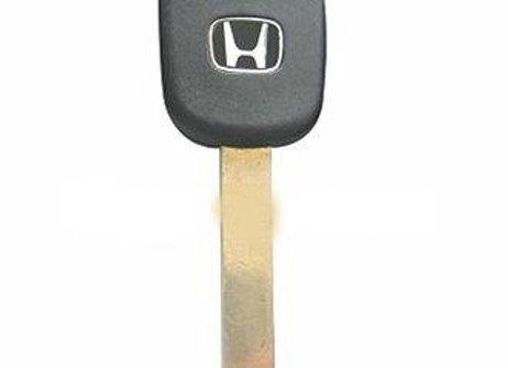Заготовка ключа HON66 с местом под чип.