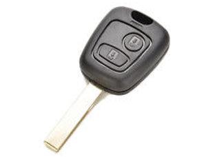 Ключ для Peugeot 406 c 2001 по 2004г.,  PCF7936