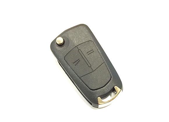 Ключ для Opel Antara, 2 кнопки