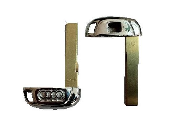 Металлическая вставка для смарт ключей AUDI.