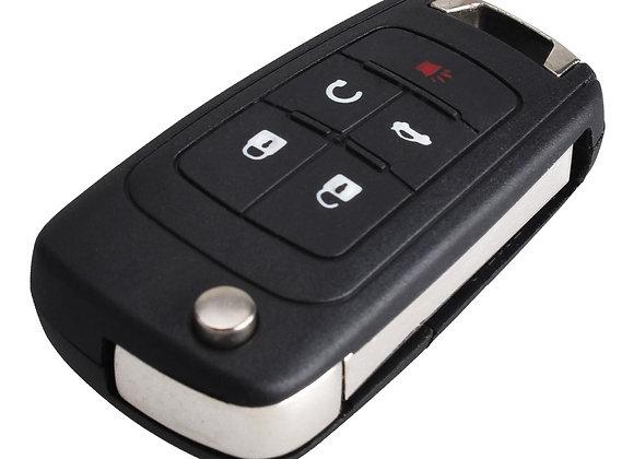 Chevrolet c 2010г. 5 кнопок  315 MHz.
