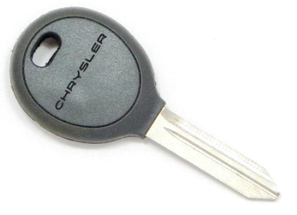 Заготовка ключа Chrysler с местом под чип.