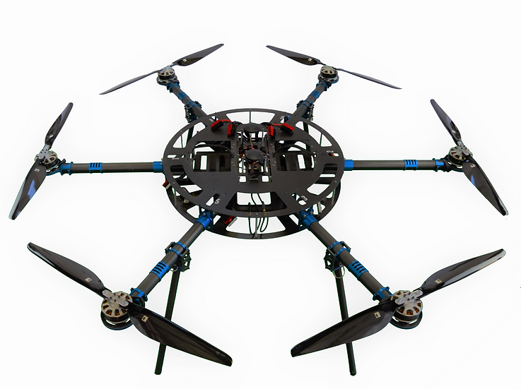 Heavy Lift Multirotor - Hexacopter
