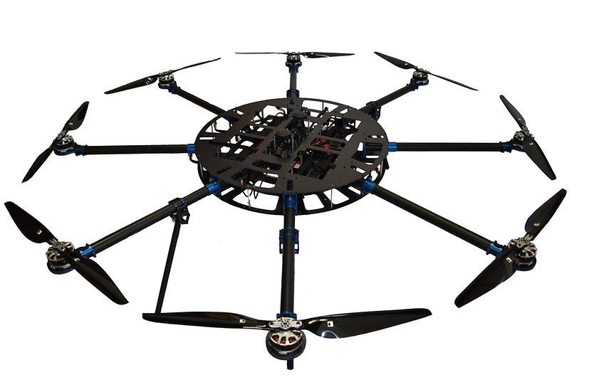 Heavy Lift Multirotor - Octocopter