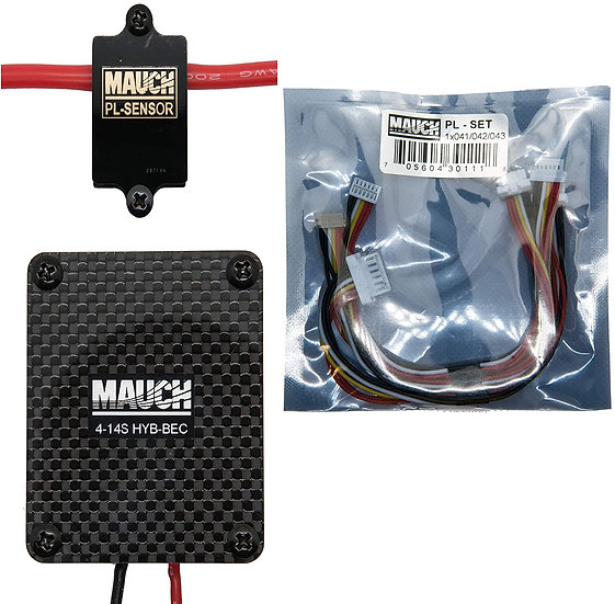 Mauch Electronics Pixhawk 2.1 Power Module Upgrade, 4-14 Cell Battery, 200 Amps