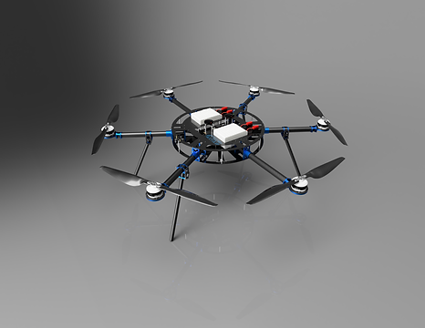 The ASW Heavy Lift Multirotor (HLM) system represents the pinnacle of industrial, heavy lift sUAS.  Built with logistics in mind to accommodate the widest possible array of missions.  Achieve unparalleled reliability and longevity when paired with our exclusive DroneCare service plans.  Consider the HLM Hex for important missions requiring maximum stability.Jun-15_09-06-11PM-000_Cu