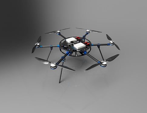 ASW Heavy Lift Multirotor (HLM) system represents the pinnacle of industrial, heavy lift sUAS.  Built with logistics in mind to accommodate the widest possible array of missions.  Achieve unparalleled reliability and longevity when paired with our exclusive DroneCare service plans.  Consider the HLM Hex for important missions requiring maximum stability.