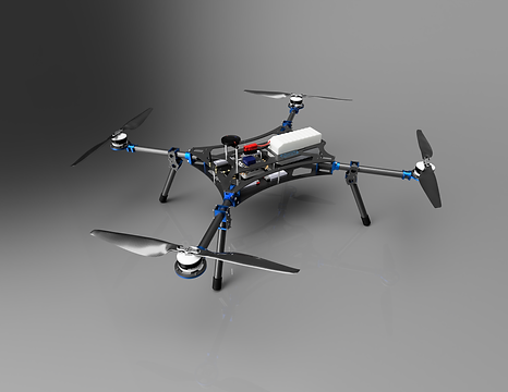 ASW is proud to introduce the Intermediate Lift Multirotor (ILM), the perfect complement to any commercial operation.  An industrial grade quadcopter that ships and packs easily while supporting various payloads.  The smallest in ASW's family of multirotors, this features the same modularity and ease of maintenance for which our larger options are already known.