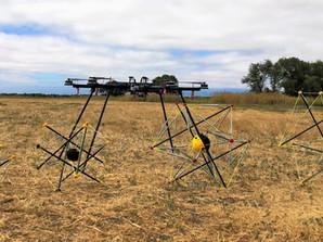 Drop testing Mobile Sensing Robots