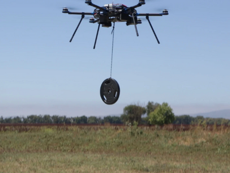 Can Your Drone Carry 55 lbs? Drop Test with a Heavy Lift Multirotor
