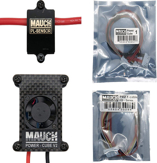 Mauch Electronics Power Cube-1 (V2) Combo for Pixhawk 2.1 - 200Amp