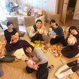 乳幼児へのタッチケア指導者講座、DAY2、開講♪