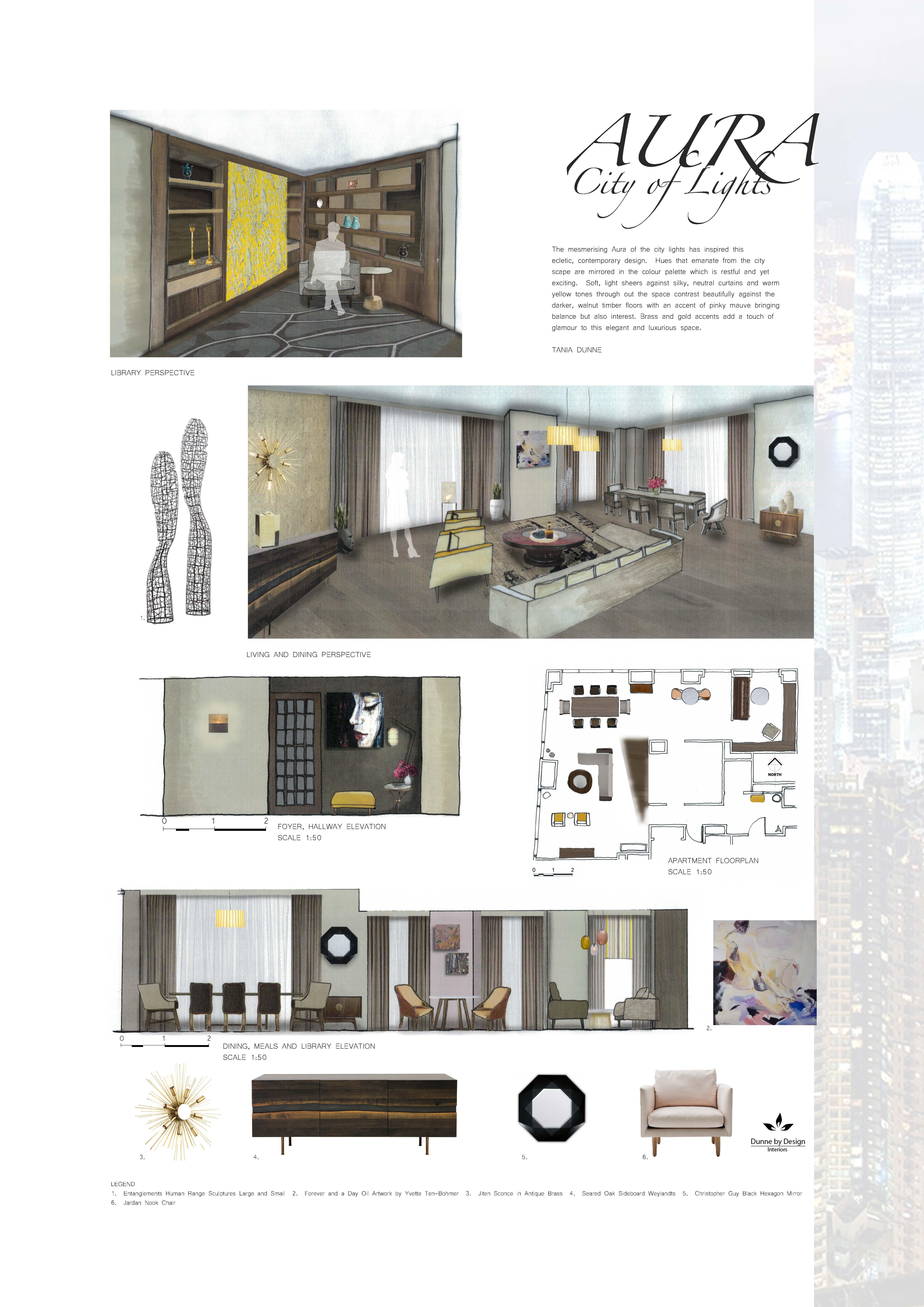 Apartment Presentation Board