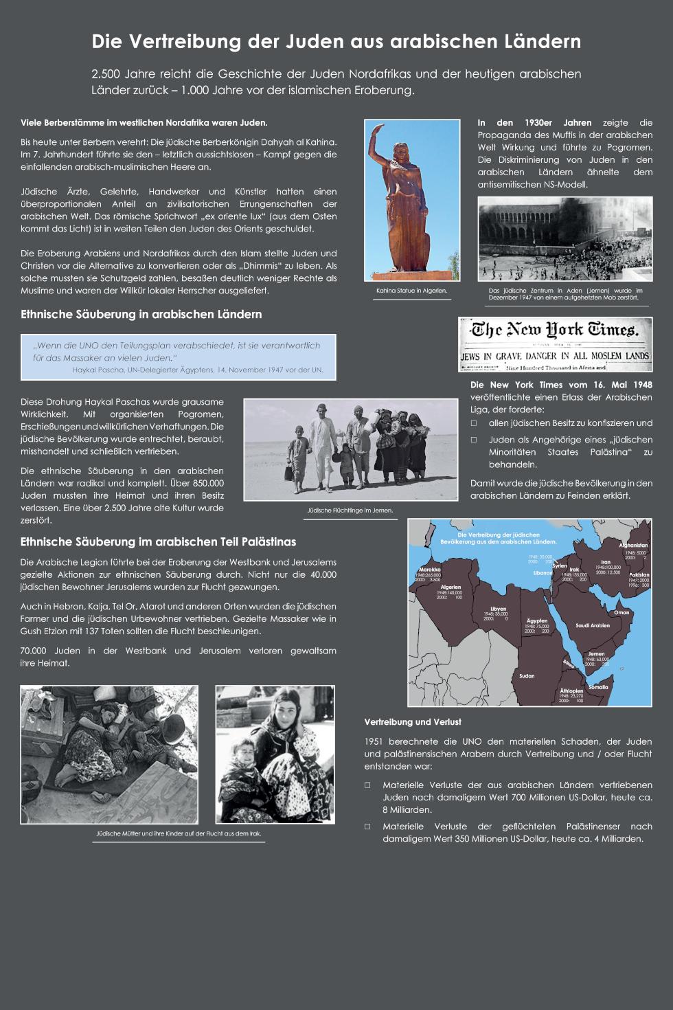 27 Die Vertreibung der Juden aus arabischen Ländern